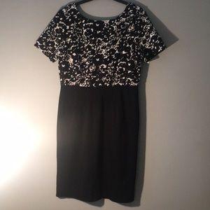 Tahari Black Dress Size 12